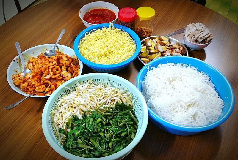 Penang Hokkien Mee Ingredient Hokkienmee Penang Prawnnoodles Malaysian Food Penang Food First Eyeem Photo