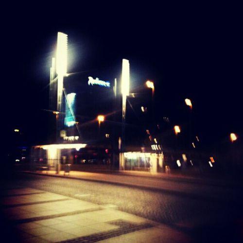 Augustusplatz Leipzig bei Nacht