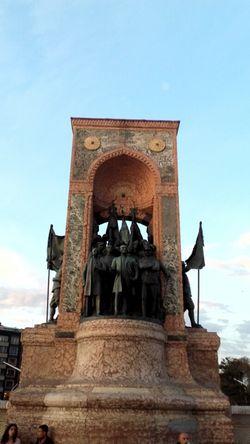 Taksim Square Taksim Meydanı Taksimbeyoglu Atatürk Architecture Statue Clear Sky Cultures Outdoors Day