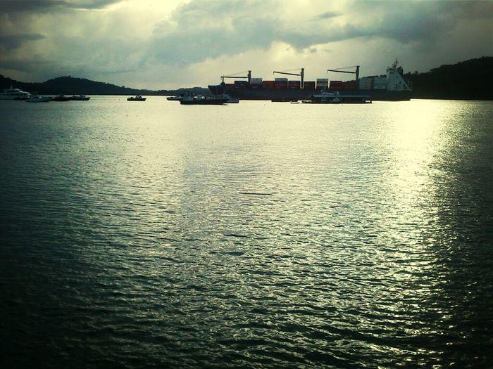 Hanging Out Taking Photos Canal De Panama