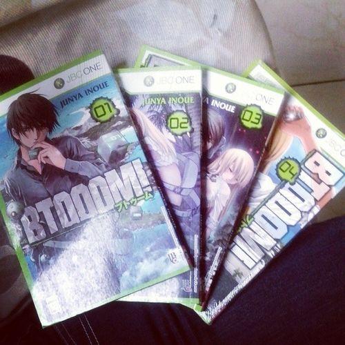 Bora conhecer outros tipos de histórias Manga BTOOM ! JunyaInoue JBC