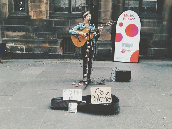 Another busker.
