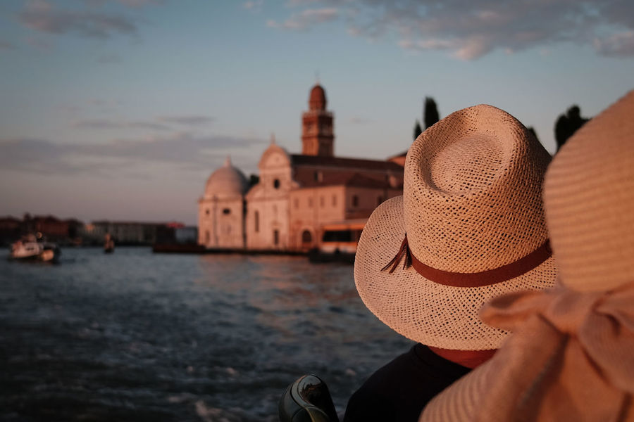 Cappelli Venice - Architecture Building Exterior Built Structure City Nautical Vessel Outdoors People Real People River Sky Sunset Transportation Water Your Ticket To Europe Connected By Travel
