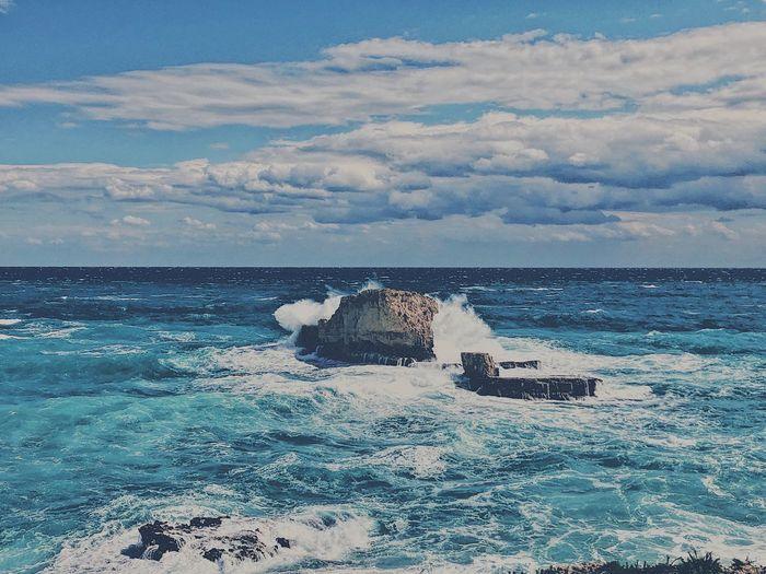 Water Sea Cloud