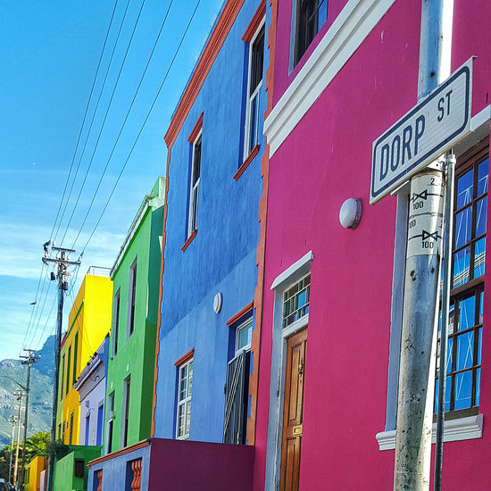 Architecture Bo-kaap Building Exterior Cape Town City Colourful Dorp Eyem Best Shots Eyemphotography Fun History House Low Angle View Multi Colored Nationalmonuments Photography Photooftheday Residential Building Residential Structure South Africa