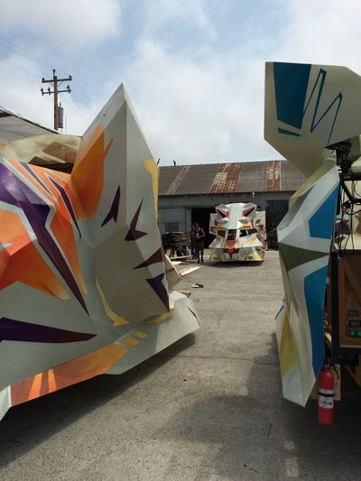 Draweverywhere Burning Man 2015 Art Cars Animal Cars