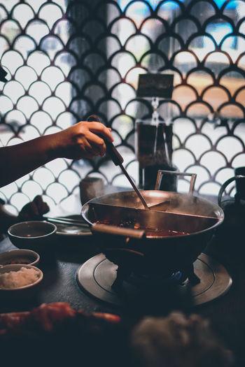 Hot pot scenes