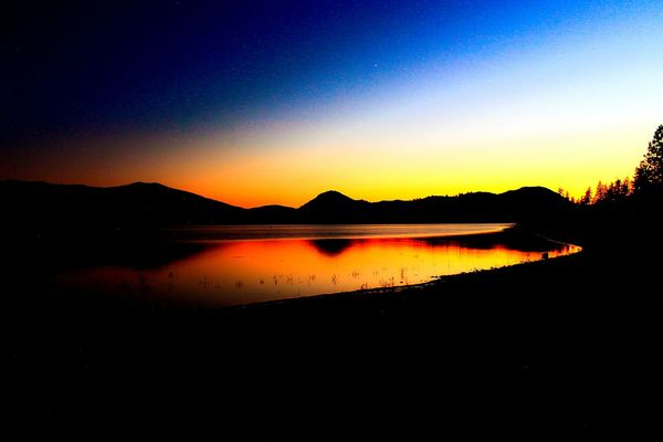43 Golden Moments Sunset Golden Lake Shastina C.a lake Beauty In Nature Diamond Mafia Photography Diamond Mafia Studios