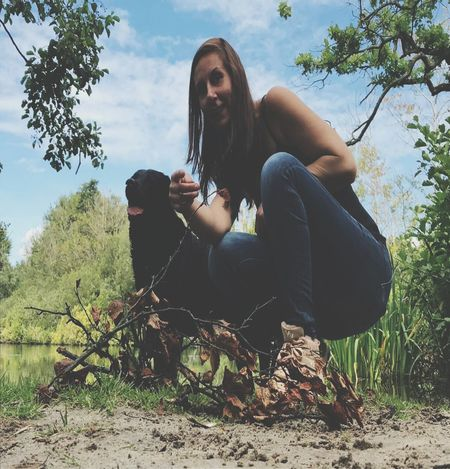 Model shoot Young Adult Sitting One Person Adults Only Adult Long Hair One Woman Only One Young Woman Only Tree Only Women People Human Hair Young Women Full Length Outdoors Women Beauty Day Portrait Beautiful Woman Be. Ready. EyeEmNewHere