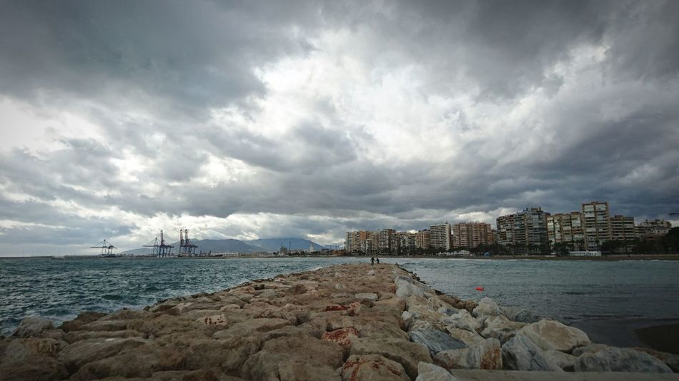 Cloudy Days Malaga Puerto
