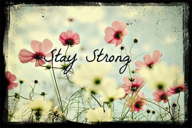 Always stay positive no matter what Positive
