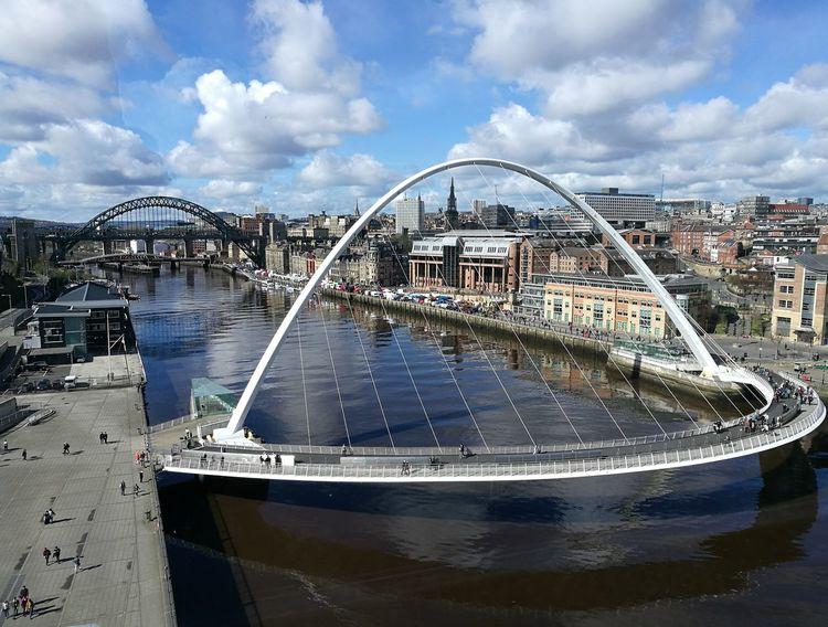 Bridge over the Tyne River View Riverside Riverscapes Riverside Photography Bridges