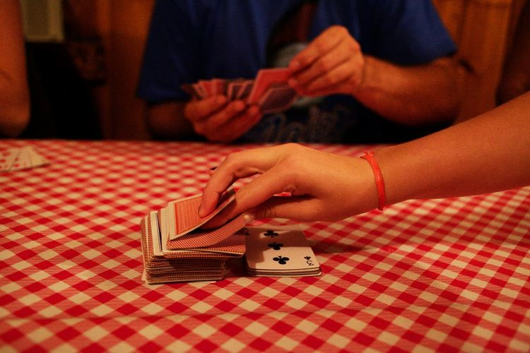 Cards Games Hands