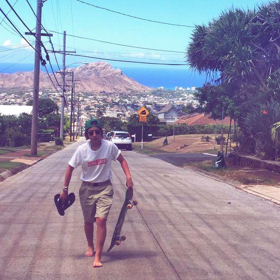 Hawaii Aloha Holiday POV Enjoying Life Skate