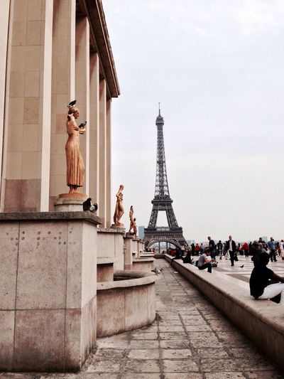 Paris Paris Tour Eiffel Trocadero The Architect - 2017 EyeEm Awards