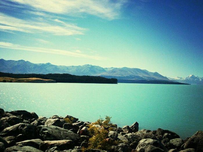 milky skyblue Lake