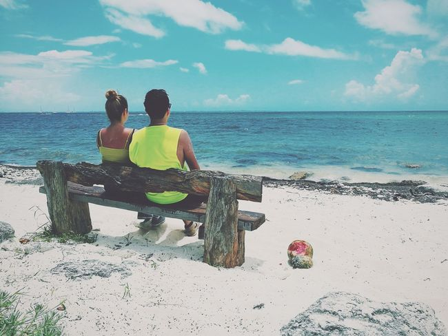 Couple Beach Vacations Couple - Relationship Love Summer Cancun☀