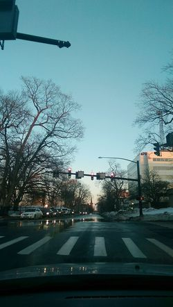 At the stop light :) theres something about the city i adore. City Car Stoplight Hartford