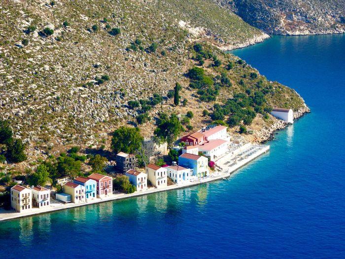 My Beautiful Island, Castellorizo Castellorizo On The Edge Of The Aegean Blue Sea Blue Water Reflections Reflections In The Water My Beautiful Island My Beautiful Island! Kastellorizo Blue Wave