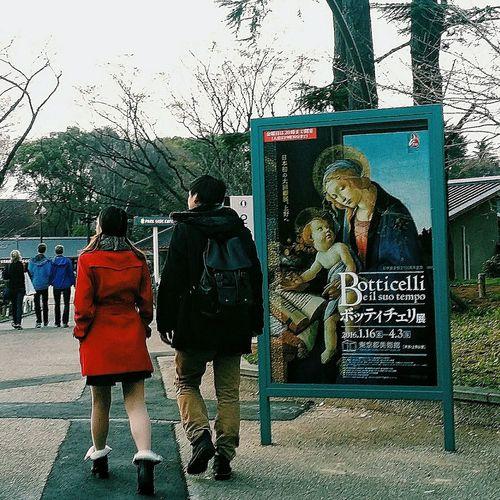 Botticelli Poster Exhibition Tokyo Japan Uenopark2016 EyeEM Tokyo EyeEm Japan EyeEm Gallery Streetphotography