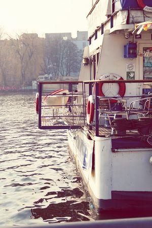 Water Outdoors No People Berlin-friedrichshain An Der Spree Berlin My View Einblicke Altes Boot