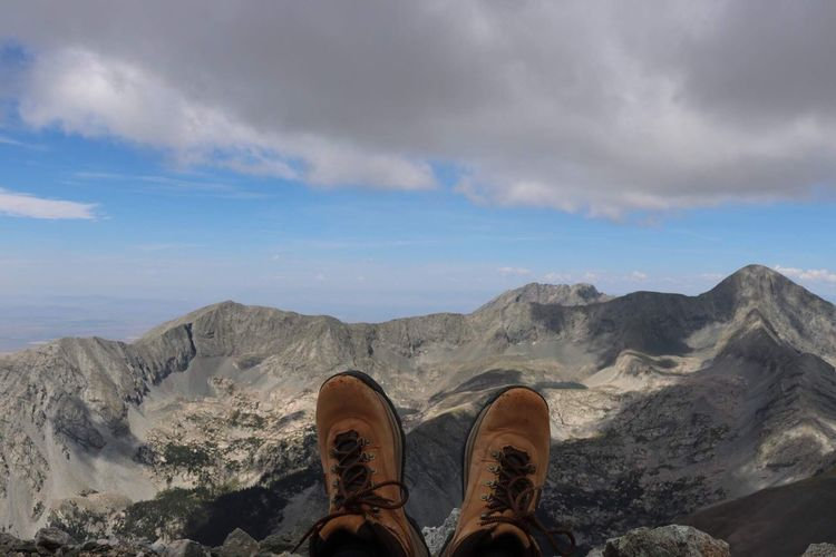 Relaxing on some mountains Shoe Cloud - Sky Sky Low Section Human Leg Body Part Human Body Part Beauty In Nature Leisure Activity Real People Unrecognizable Person Nature Lifestyles Scenics - Nature Non-urban Scene Personal Perspective One Person Day Outdoors Human Foot