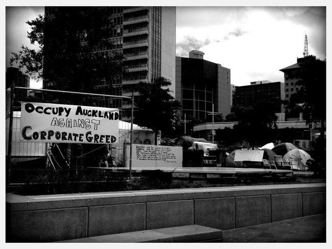 #OccupyAuckland at Aotea Square #OccupyAuckland