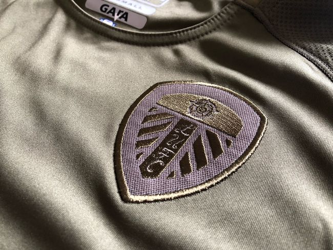 #LUFC #kappa Textile Indoors  Close-up High Angle View No People Text Western Script
