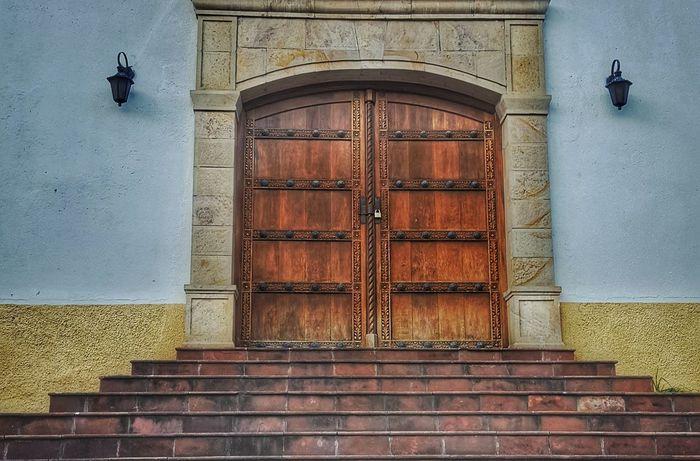 Door Closed Entrance Architecture Built Structure Day Building Exterior Outdoors No People Bolivia Travel Tourism La Paz, Bolivia Church Door Church Architecture Church