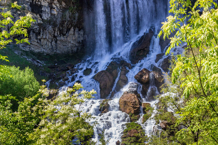 Albania Flowing Water Nature Rock Mountain Nature_collection Stones & Water Sunny Day Waterfall Waterfall_collection