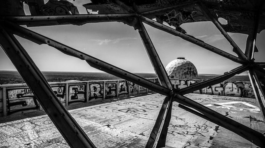 Teufelsberg Black & White B&w NSA Ruins Berlin