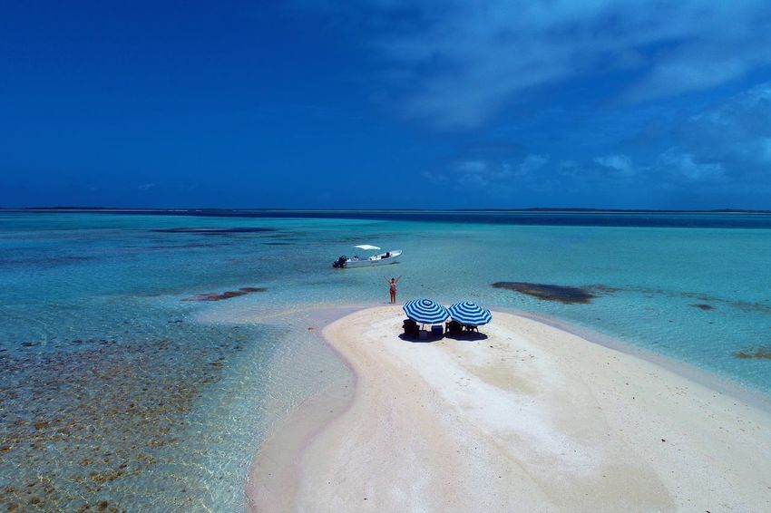 Aerial view of island and beach in Los Roques, Venezuela Sea Water Land Horizon Horizon Over Water Scenics - Nature Beach Sky Beauty In Nature Sand Nature Tranquil Scene Tranquility Nautical Vessel Blue Day Cloud - Sky Idyllic Transportation No People Outdoors Los Roques Madrisqui Caribe Caribbean Caribbean Life Caribbean Island Francisqui Crasqui Carenero's Beach Cayo De Agua Venezuela