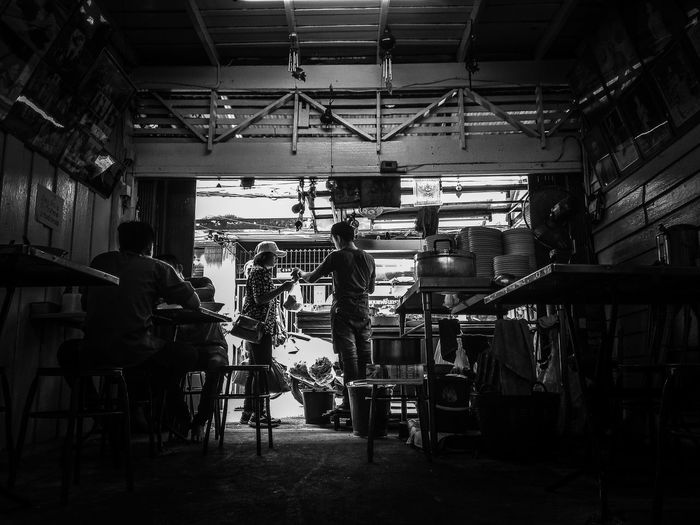 Indoors  Business Finance And Industry Industry People Adults Only Adult Day Only Men Blackandwhite Photography Black And White Old House Old Style Nudes ร้านบะหมี่ อาชีพสร้างงาน เก็บเล็กผสมน้อย ชีวิตกับการค้าขาย อาหาร ก๋วยเตี๋ยว ร้านค้า ค้าขาย ASIA Travel Destinations