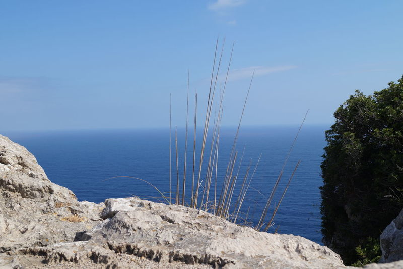 Cap Formentor Mallorca Nature SPAIN Tourist Attraction  Travel Blue Sky Clouds And Sky Coast Daylight Landscape No People Outdoors Rocks Sea Seaside Sight Travel Destinations Water