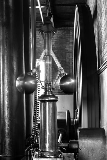Centrifugal Governor Victorian Centrifugal Force Close-up Equipment Factory Flywheel Focus On Foreground Governor Indoors  Industry Machine Part Machinery Metal Motion Movement No People Spinning Steam Age