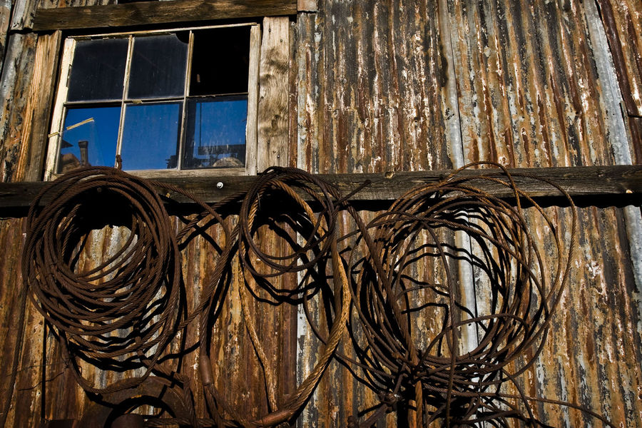 Abandoned Abandoned Buildings Abandoned Places Blue Closed Day Decay Decayed Decaying Building Decaying Structure Decaying Wood Detail Deterioration No People Old Old Building  Outdoors Rope Run-down Structure Wind Wood - Material