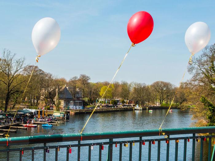 Balloon Balloons Balloons🎈 Birthday Celebration Day Helium Helium Balloon Love Love Lock Love Locks Love Locks Bridge Love Love And Love❤ Love Love Love Love Love Love.♥♥♥ Love ♥ No People Outdoors Sky Wedding