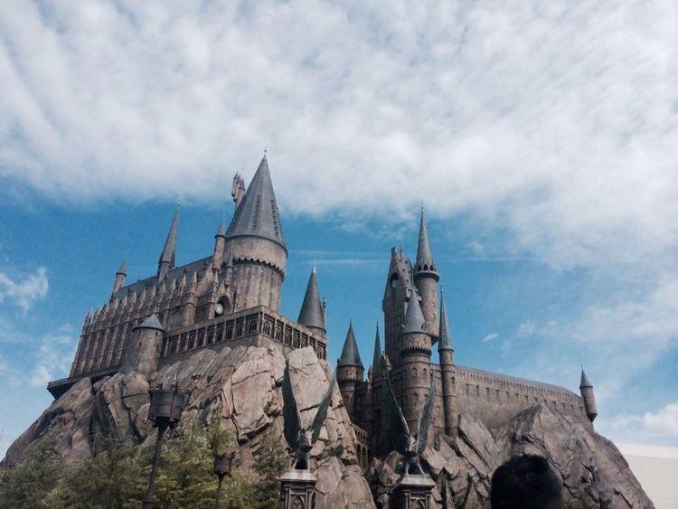Japan OSAKA Universal Studios  Harrypotter Castle Hogwarts