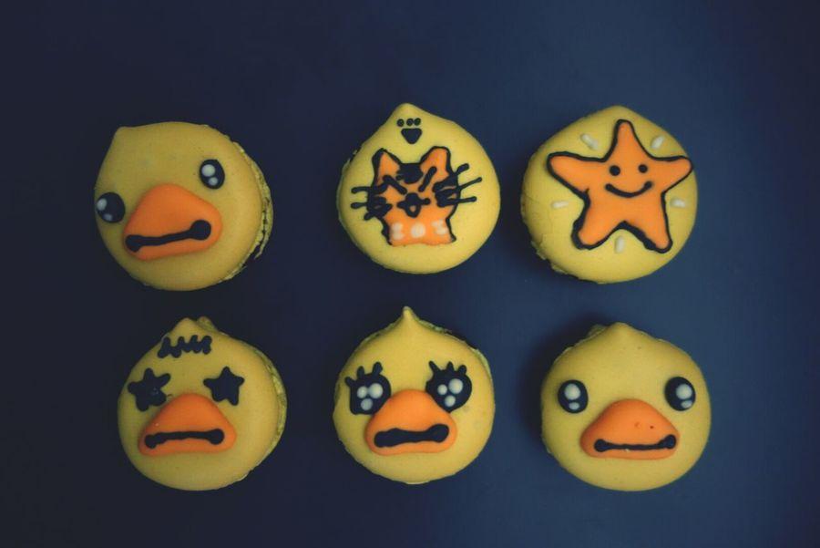 Homemade Macarons Macaroons Ducky