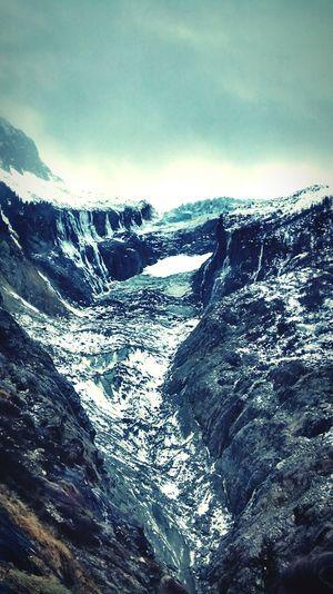 Glacier d' Argentiere