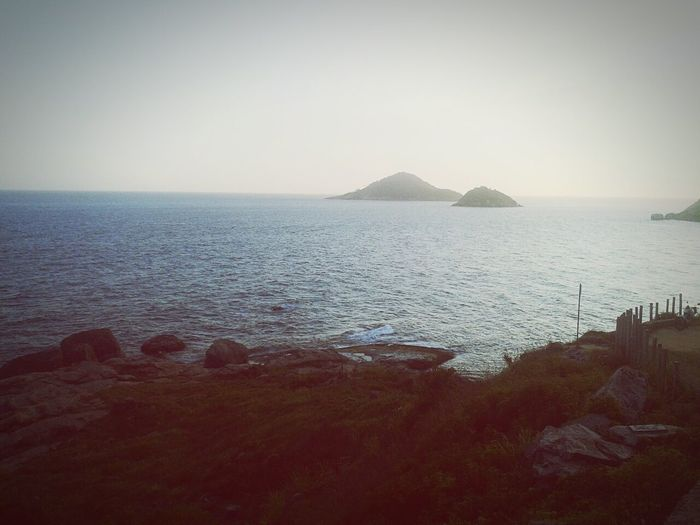 Rio de Janeiro- Brasil ♥ Tranquil Scene Sea Scenics Nature Water Sunset Beauty In Nature Landscape Social Issues Mountain Tranquility Outdoors No People Day Sky First Eyeem Photo