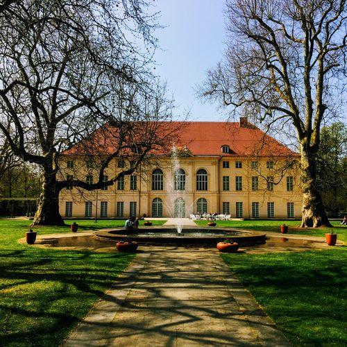 Schloss Schönhausen Schönhausen Palace Schlosspark Castle Park Schloss Castle East Berlin Pankow Berlin