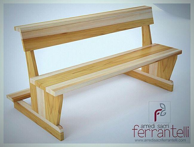 Craft Production Benches For Church Banchi Per Chiesa Arredo Sacro Ferrantelli Religious  Chiesa Banchi Wood Architecture