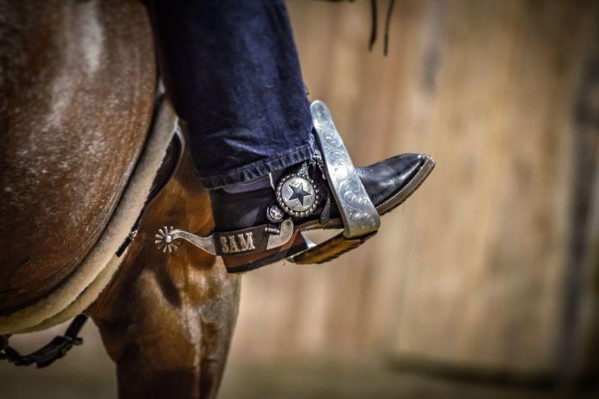 Western riding encapsulated EyeEm Selects Low Section Human Leg Shoe Close-up Wild West Leather Cowboy Horse Sheriff Working Animal Pony Horseback Riding