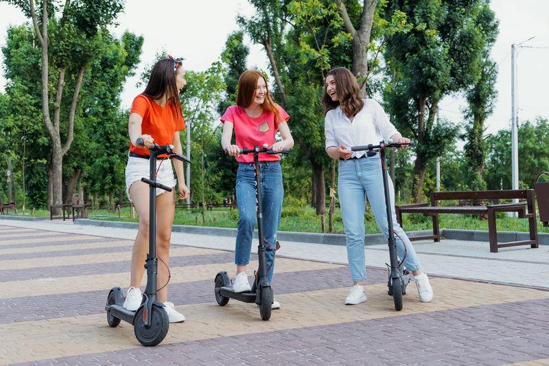 E-scooter, electric scooter, ecological urban city transport, alternative energy, alternative