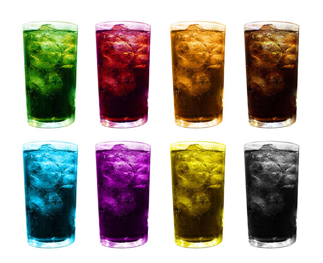 ice glass water multi color, fruit juice colorful mixed in ice glass, ice tea juice glass, water glasses sweet carbonated drinks with ice cubes isolated white background Ice Tea Juice Glass Beverage, Bubble, Carbonated, Citron, Citrus, Clipping, Closeup, Cola, Cold, Collection, Drink, Fast, Food, Fresh, Freshness, Fruit, Glass, Healthy, Ice, Isolated, Juice, Juicy, Lemon, Lemonade, Lime, Liquid, Macro, Object, Orange, Path, Refreshing, Refre Fruit Juice Colorful Mixed In Ice Glass Ice Glass Water Multi Color Water Glasses Sweet Carbonated Drinks With Ice Cubes Isolated White Background