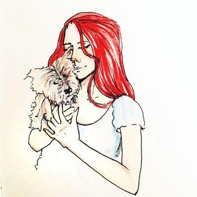 Нарисовала Вика меня мненравится супер
