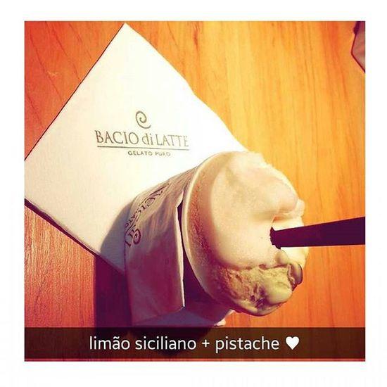 sabores necessários 🍦 Gelato Baciodilatte Sabores Siciliano Pistache Necessario