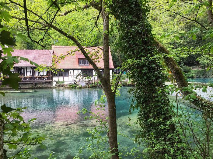 Wassermühle am