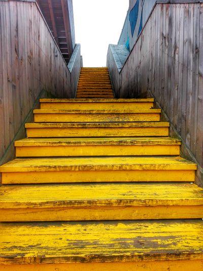 Yellow Rotterdam Urban Urban Geometry Stairs stairways Stairway Rotterdam Urban Geometry Civilization Layered